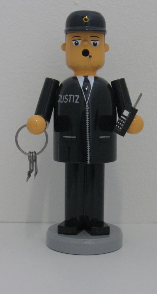 Räuchermann Justizbeamter