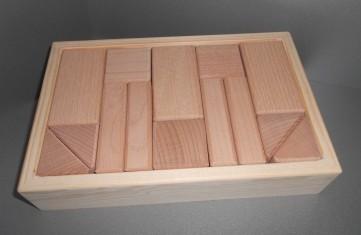 Holzbausteine Set