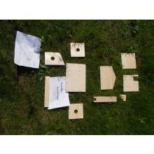 Bausatz Vogelfutterhaus