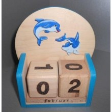 """Würfelkalender """"Delfin"""""""