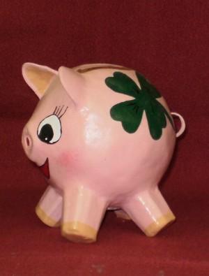 Sparschwein Glücksschwein